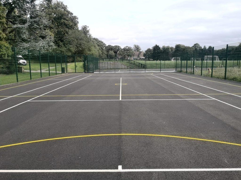 Tennis Court Resurface