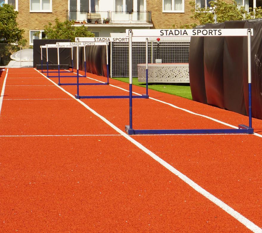Rooftop Athletics Track