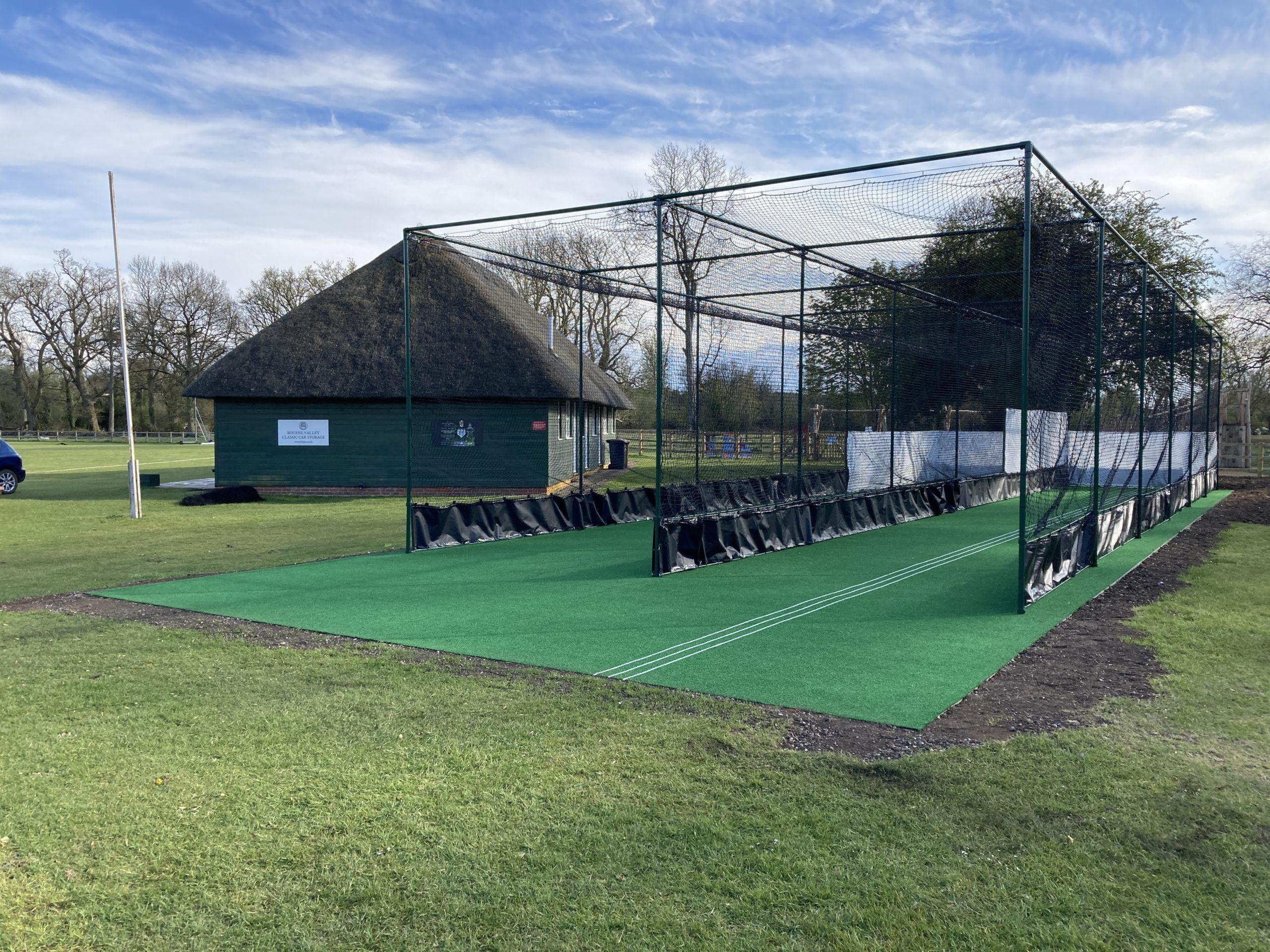 Non-Turf Cricket Practice Facility