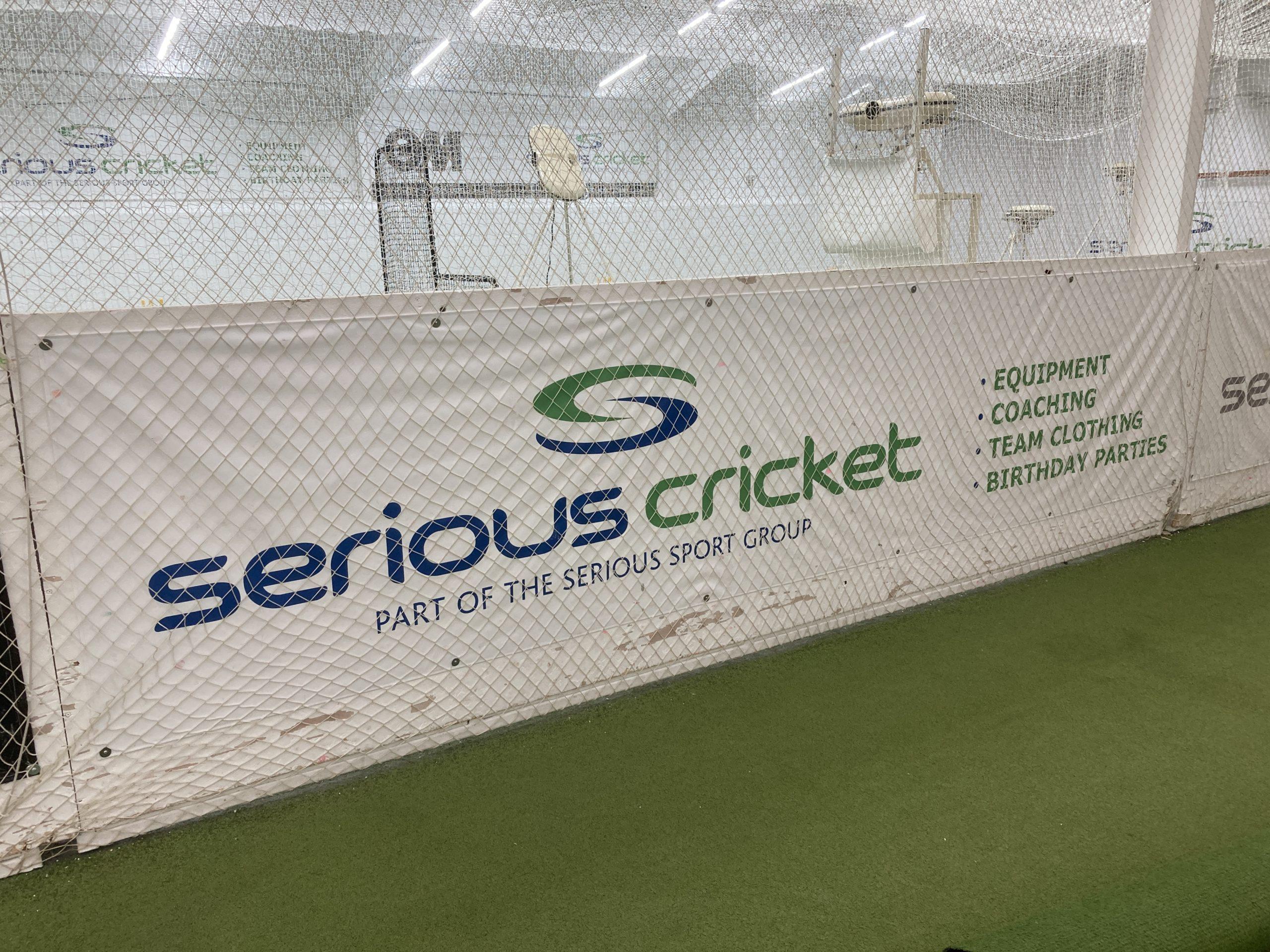Indoor cricket facility