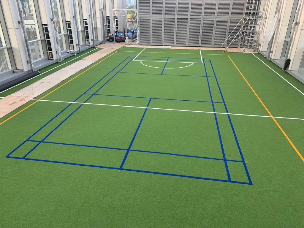 Fire Rated Rooftop MUGA